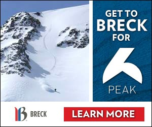 Breckenridge Ski Resort - With over 2,901 skiable acres across 5 incredible peaks and a charming mining town, Breck is one of the most beloved ski resorts in North America.