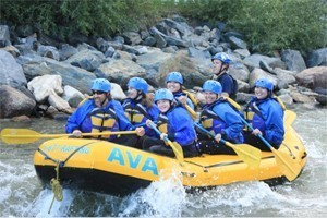 Whitewater Rafting & Zipline near Keystone : AVA has 4 Outposts within an hour of Keystone with whitewater rafting, mountaintop zipline tours, horseback riding and more. Great discounts and deals, free wetsuits.