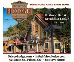 1885 Bed and Breakfast - The Charming Frisco Lodge : Fall under the spell of Summit County's top-rated bed and breakfast. Features exceptional hospitality & service, full breakfast, afternoon wine, cheese, & hors-d'oeuvres.