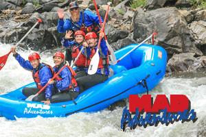 MAD Adventures - raft the Colorado