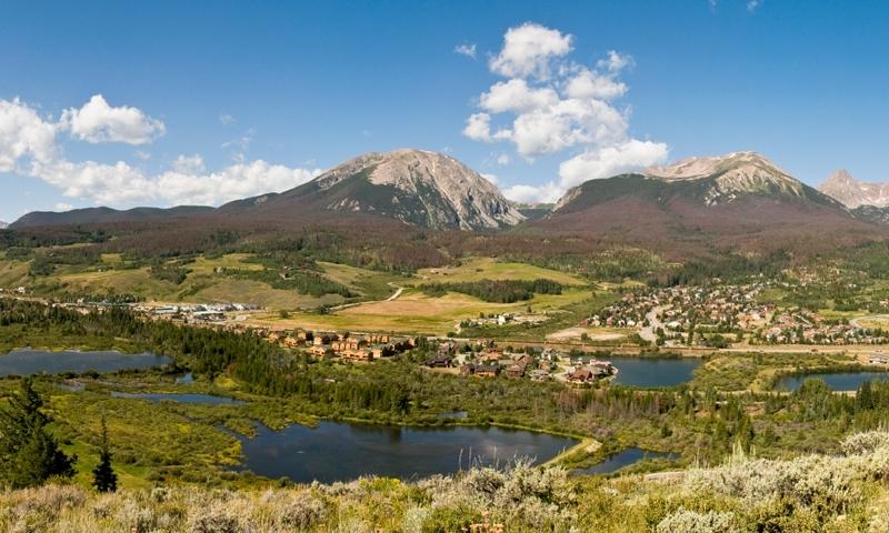 Silverthorne Colorado Buffalo Mountain