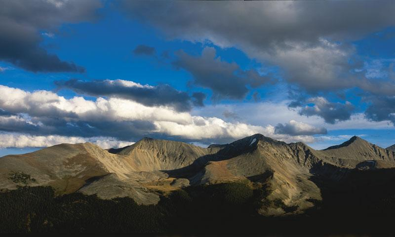 Scenic View of Copper Mountain in Summit County