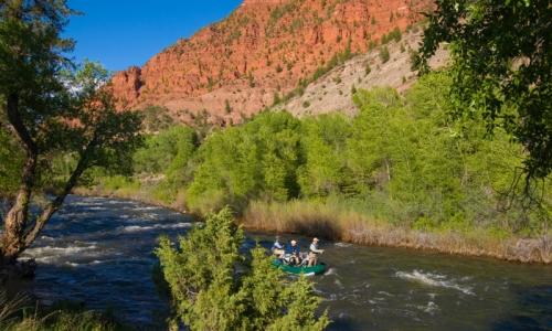 Fishing the Eagle River Colorado