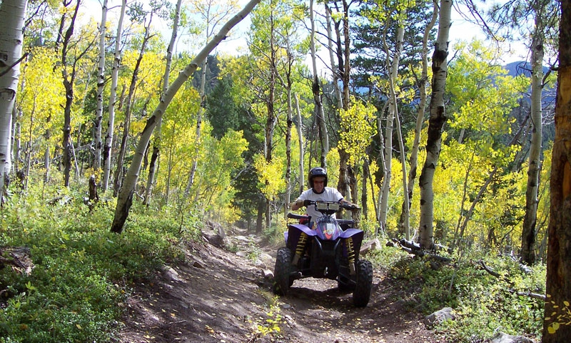 ATVing in Summit County