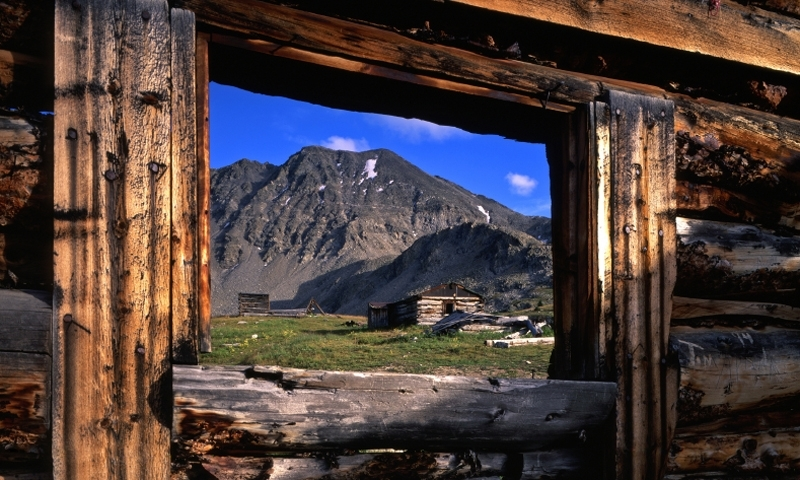 Ghost Town in Arapaho National Forest