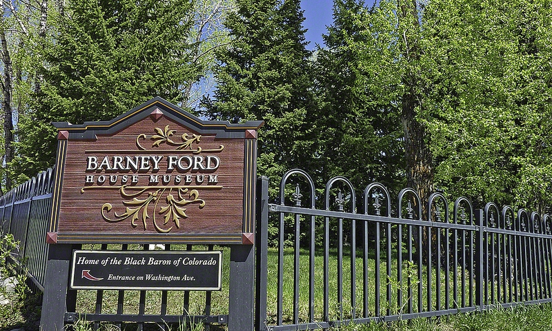 Barney Ford House Museum in Breckenridge