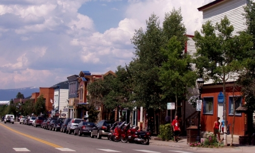 Downtown Breckenridge Colorado