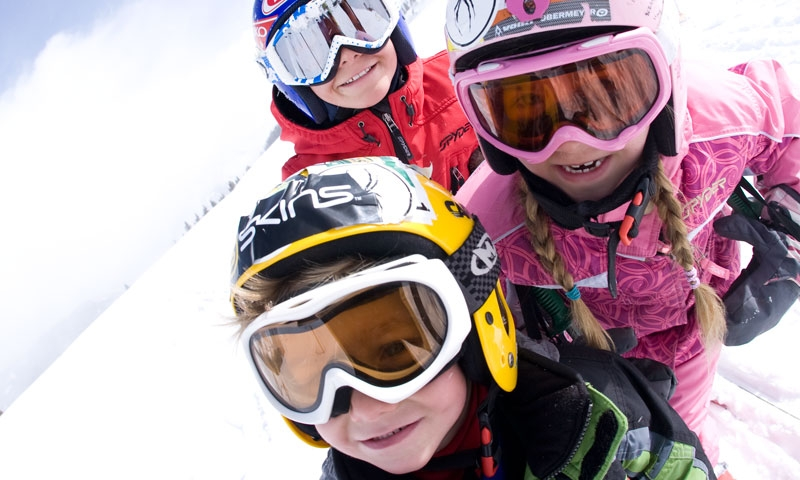 Kids Skiing at Copper Mountain