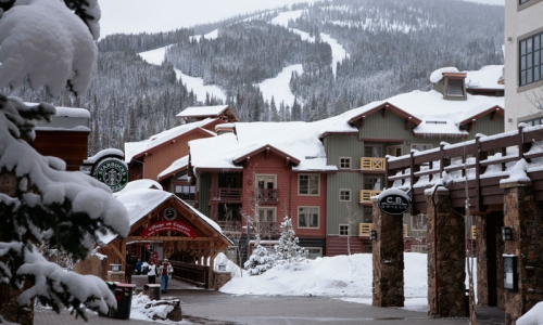 Colorado Copper Mountain Ski Resort