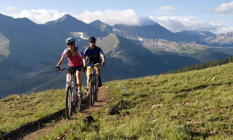 Mountain Biking at Copper Mountain