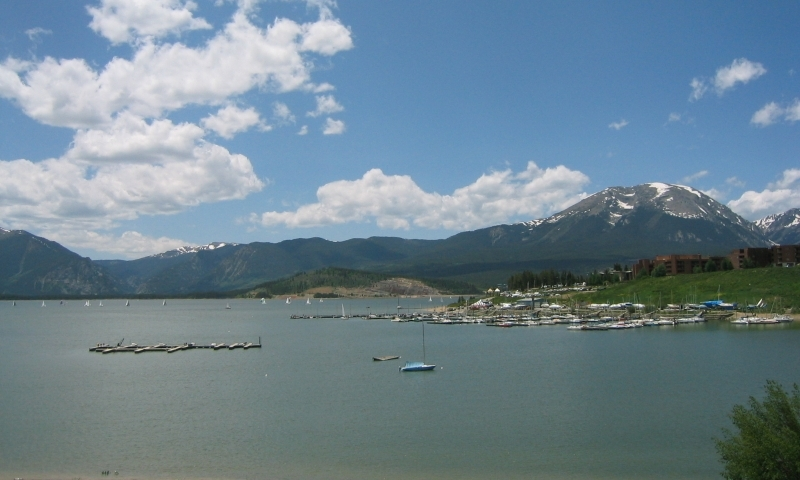 Lake Dillon in Summit County