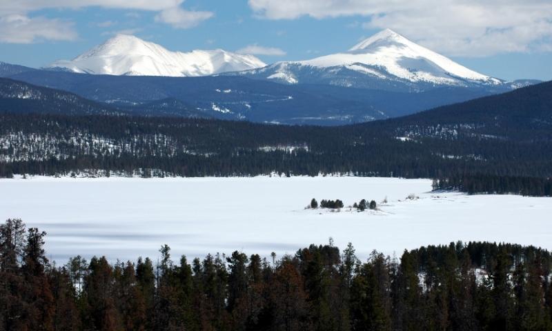 Colorado Lake Dillon