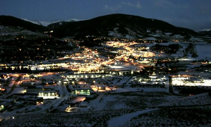 Night over Breckenridge