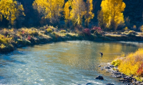 Eagle river colorado fly fishing camping boating alltrips for Colorado river fly fishing