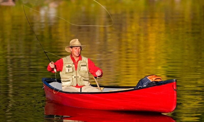 Canoeing Canoe Fishing