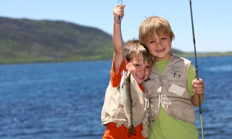Kids Family Fishing
