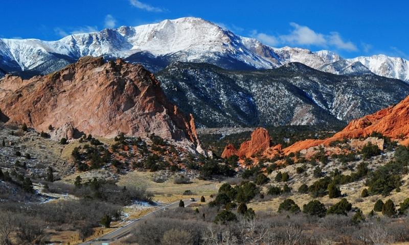 Pikes Peak in Colorado Springs
