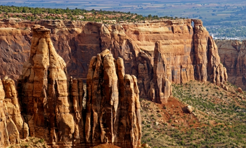 Colorado National Monument is near Grand Junction