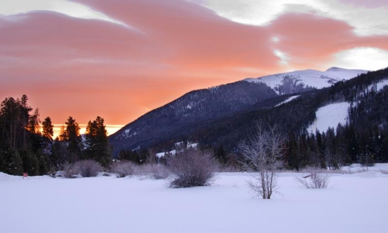Keystone Colorado Sunrise