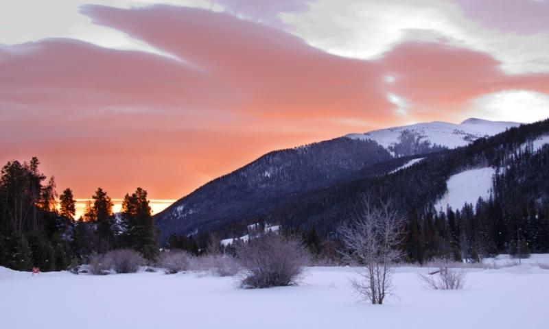 Sunrise at Keystone