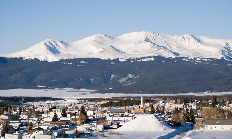Leadville Colorado Mount Massive