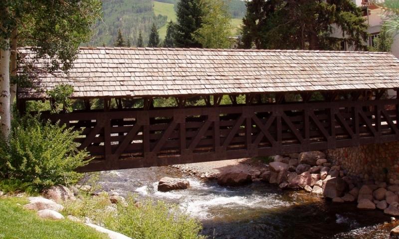Gore Creek Bridge in Vail