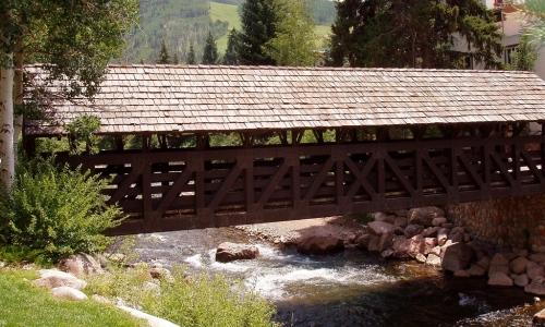 Gore Creek Bridge Vail Colorado
