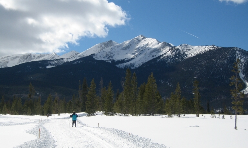 Cross Country Skiing in Breckenridge