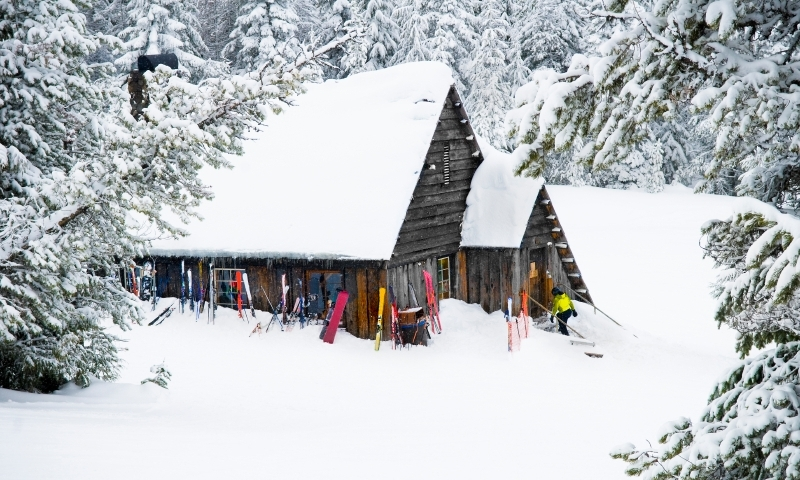 Backcountry Ski Hut