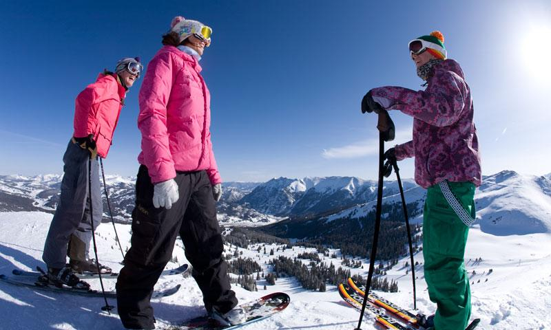 Skiing and Boarding at Copper Mountain