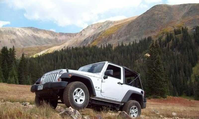 Breckenridge Jeep Rentals