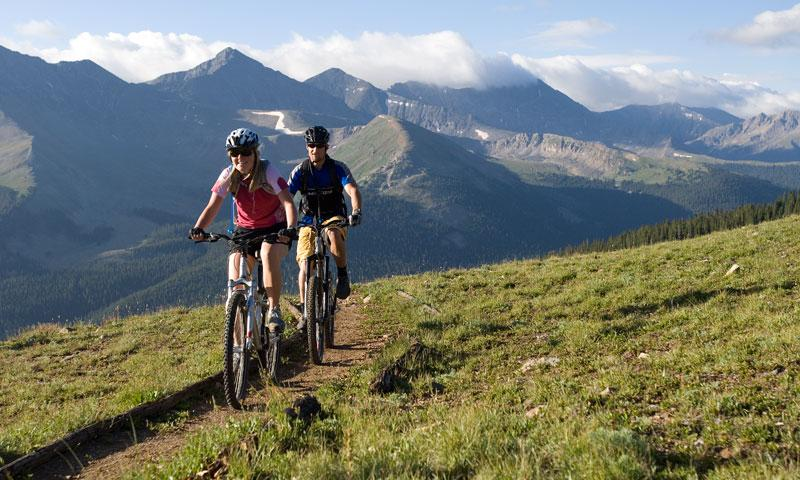 Mountain Biking at Copper Mountain