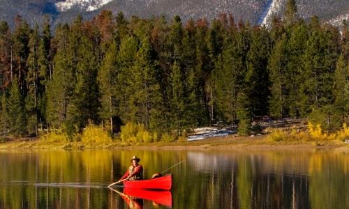 Lake Dillon Canoeing
