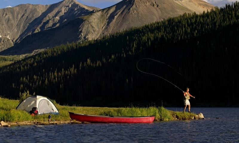 Breckenridge colorado kayak canoe sup rentals tours for Fishing lakes in colorado springs