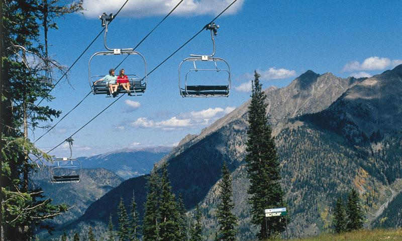 Copper Mountain Chairlift Rides