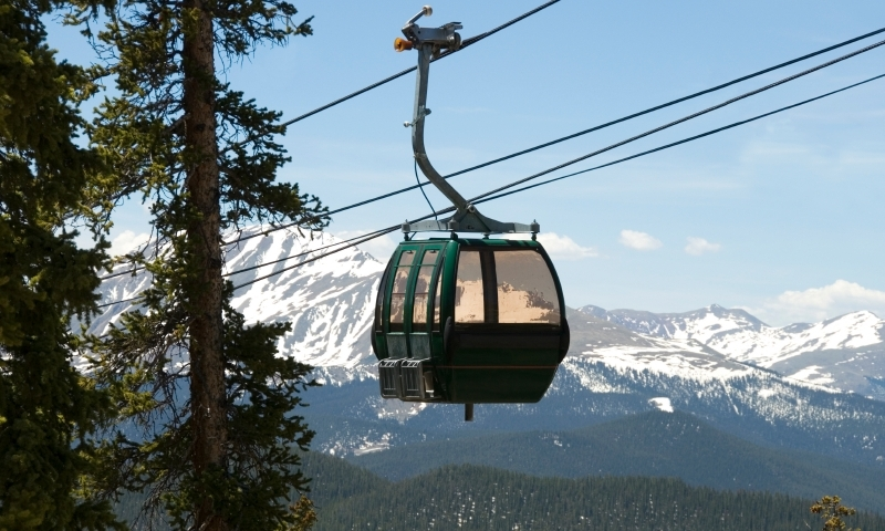 Gondola at Keystone Resort