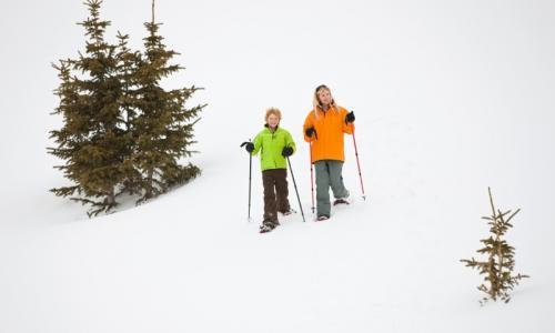 Breckenridge Kids Snowshoeing