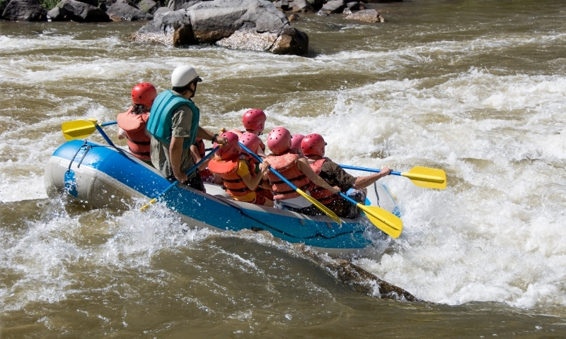 Rafting near Glenwood Springs