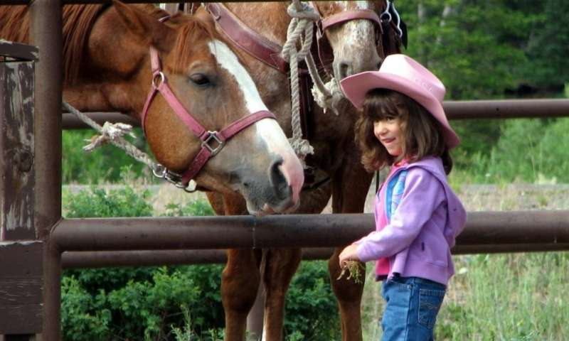 Breckenridge Kids Horseback Riding