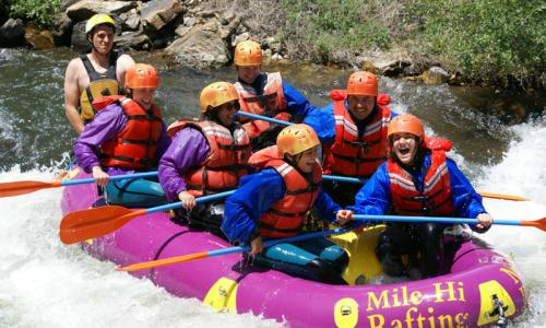 Breckenridge Colorado White Water Rafting