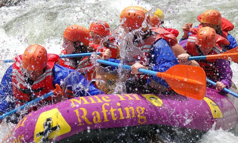 Rafting the Arkansas River in Summit County