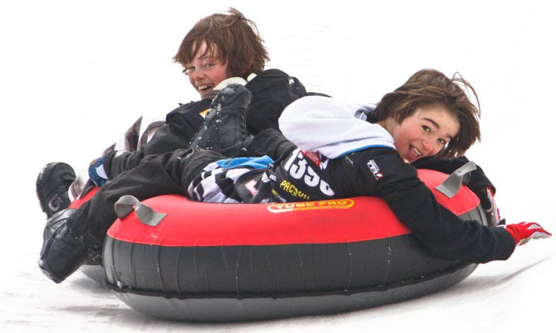 Snow Tubing at Copper Mountain