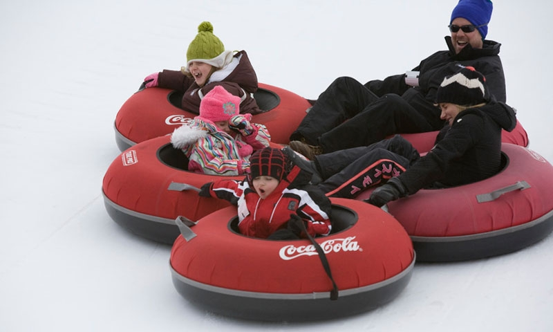 Breckenridge Ski Vacation Tubing